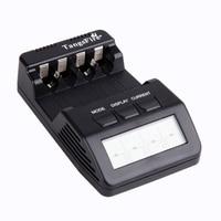 Original Opus BM100 LCD Display 4 Slot Intelligent Battery Charger For Ni MH Ni Cd AA