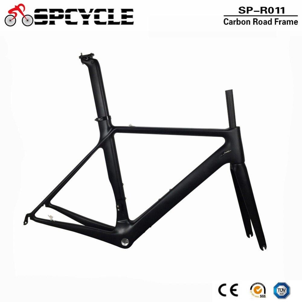 Spcycle 2018 Neue Aero Carbon Rennrad Rahmen Di2 & mechanische ...