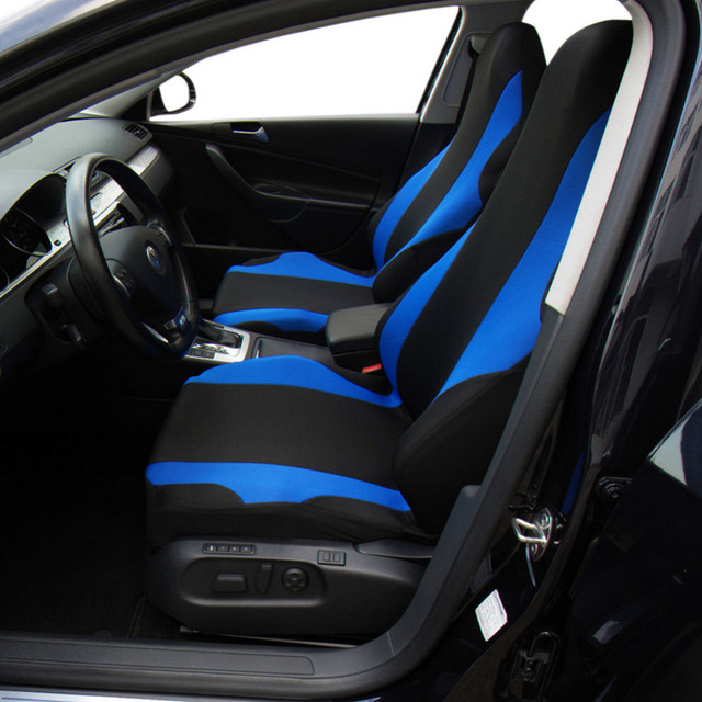 Customized Car Seat Covers Universal Fit Polyester Composite Sponge