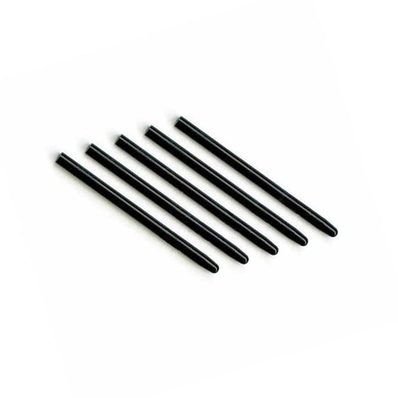 5 teile/los universal grafik zeichnung pad standard schwarz ersatz stiftspitzen für wacom...