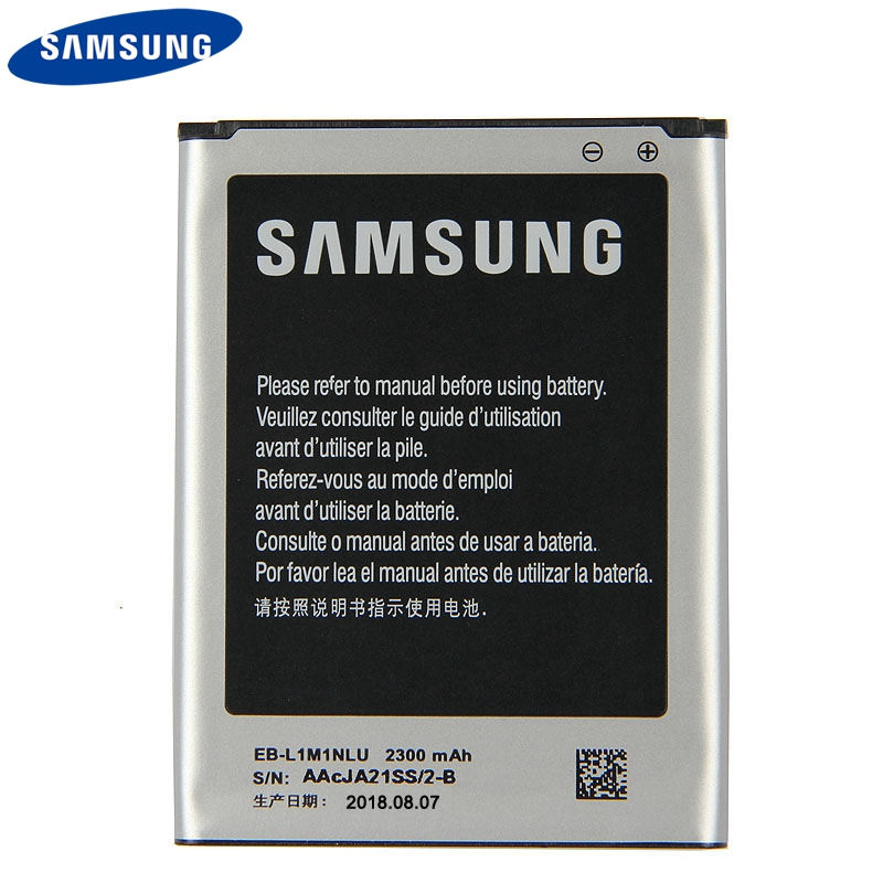 Original Replacement Phone Battery EB L1M1NLU For Samsung ATIV S i8750 i8370 i8790 Authenic Rechargeable Battery 2300mAh in Mobile Phone Batteries from Cellphones Telecommunications