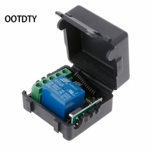 Image 4 - 315M or 433M  Universal  Wireless Remote Control Switch DC12V 1CH Relay Receiver Module + 2 RF Transmitter