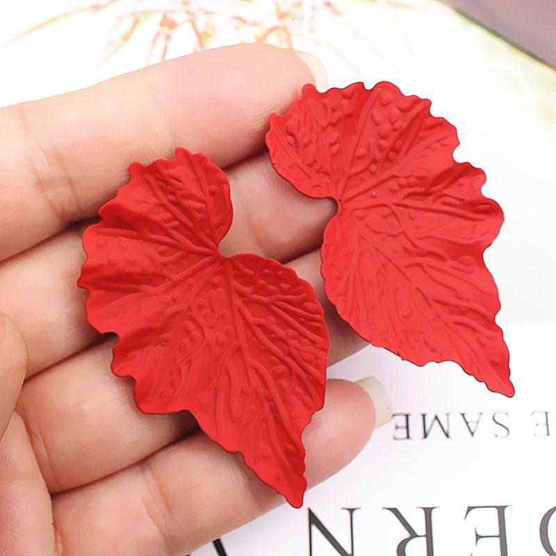 Fashion Trendy Earrings Flower Drop Earrings for Women Vintage Creative Personality Simple...