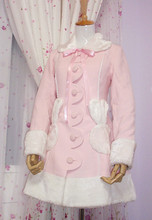 Lovely  Royal Warm Winter Cute Lolita Coat Winter Long Coats All Size