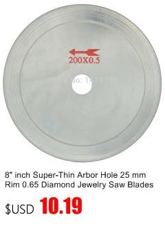 2.35 mm tige 3 mm Dia Diamond Head Balle en forme de broyage monté Point Bit 20pcs