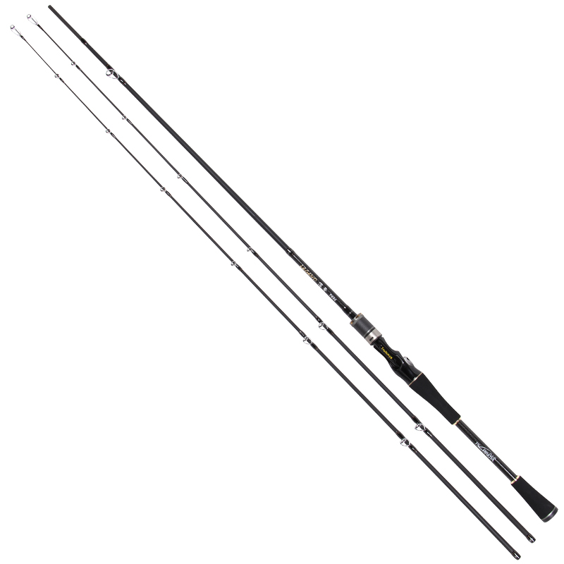 ФОТО Trulinoya double tips 2.1 meters M MH 4-18g lure fishing rod 98% carbon fiber bass baitcasting bait casting fishing rod