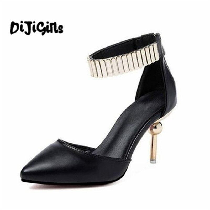 Женские туфли на выход 2018 женские новые модные шикарные пикантные высокий тонкий каблук туфли-лодочки Для женщин офисные Удобная обувь