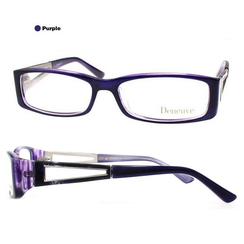 2018 moda marca acetato gafas ópticas marco Oculos De Grau montura ...