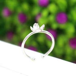 925 пробы серебро Для женщин Обручение кольцо 5-7 мм круглый шарик или Pearl полу крепление кольцо с гранатом ювелирных изделий Установка