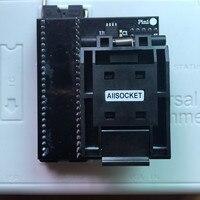 BGA107 SOCKET RT BGA107 01 POS Machine NAND MCP Adapter For RT809H Programmer
