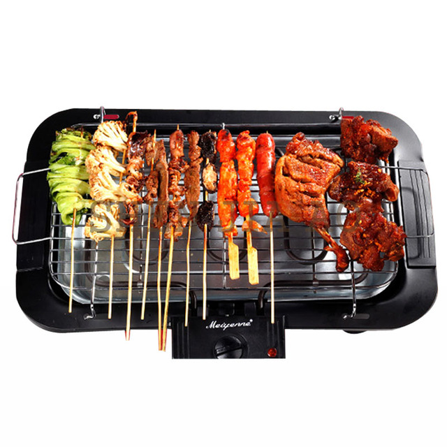 Electric Furnace 2000W  Electric Smokeless Barbecue Grill Indoor Carbon Free BBQ  JBQ-01A  2