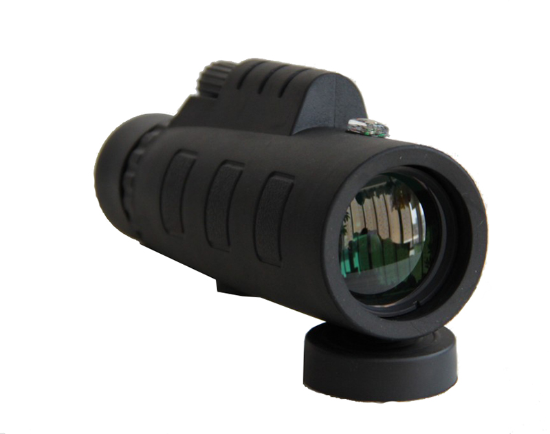 Hd monocular telescope compass adjustable tripod phone