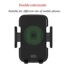 Qi fast Wireless Charger with automatic sensor Car Mount Air Vent Phone Holder For iPhone XS 8 8Plus Samsung S9 S8 S7 S6 Note8