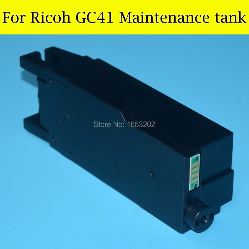 Factory Price Maintenance Tank For Ricoh GC41 Newest Waste Ink Tank For Ricoh GC 41 For Ricoh SG2010L SG3110dnw 3110 Printer best price 5pin cable for outdoor printer
