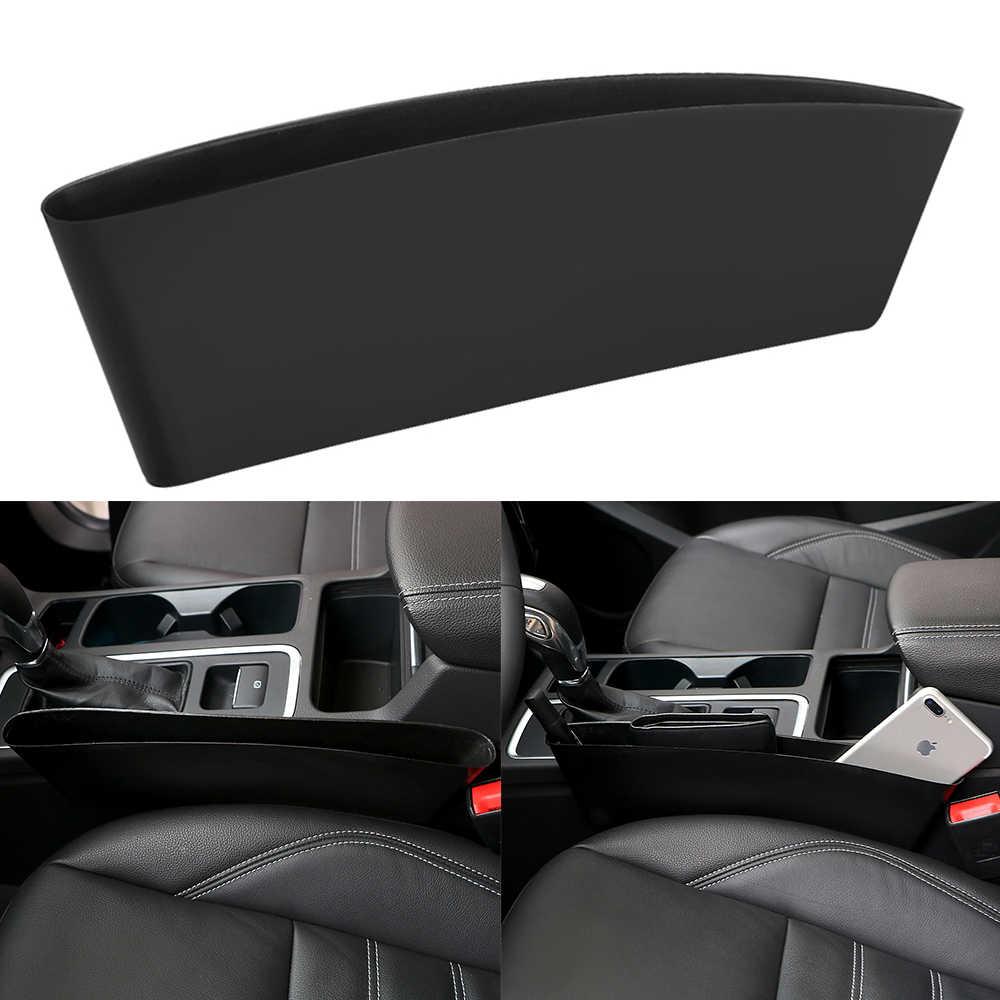 Car Accessories Interior for Phones Wallet Coin Key Gap Filler for Car Seat AOZBZ Car Seat Gap Organizer PU Leather Car Gap Filler