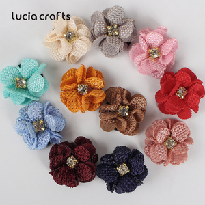 Image 5 - 10/20pcs 2.5/3/4cm Artificial Flower Silk Flower Head For DIY Wedding Party Home Decorations Floral Wreath Scrapbook Craft B1002