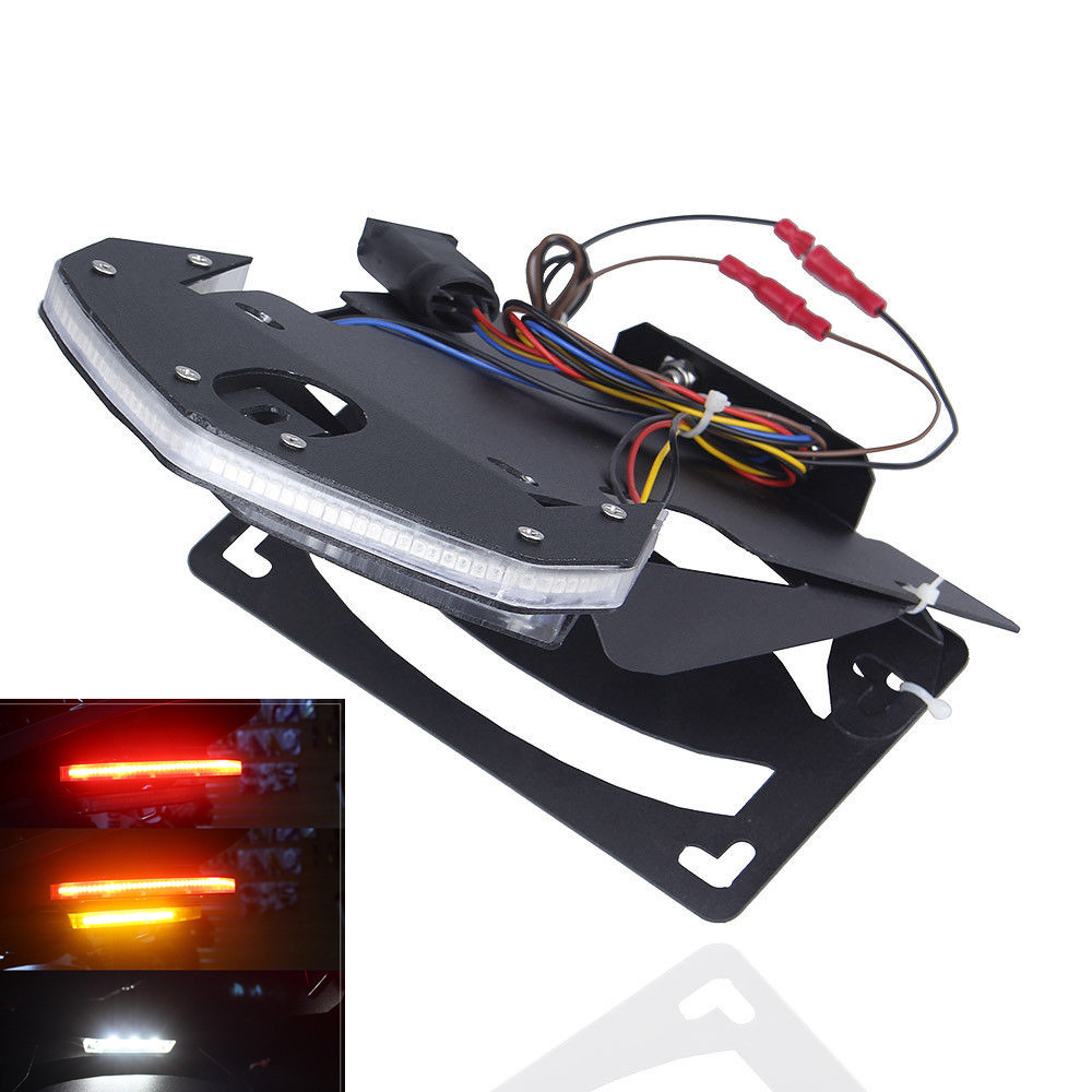 For BMW R Nine T 2014 2015 2016 2017 Motorcycle Accessories Turn License Plate Lights Brake Warning Signal LED Tail Stop Light 5pcs universal motorbike 24 led driving lights motorcycle turn signal brake lamp tail light stop lighting scooter accessories