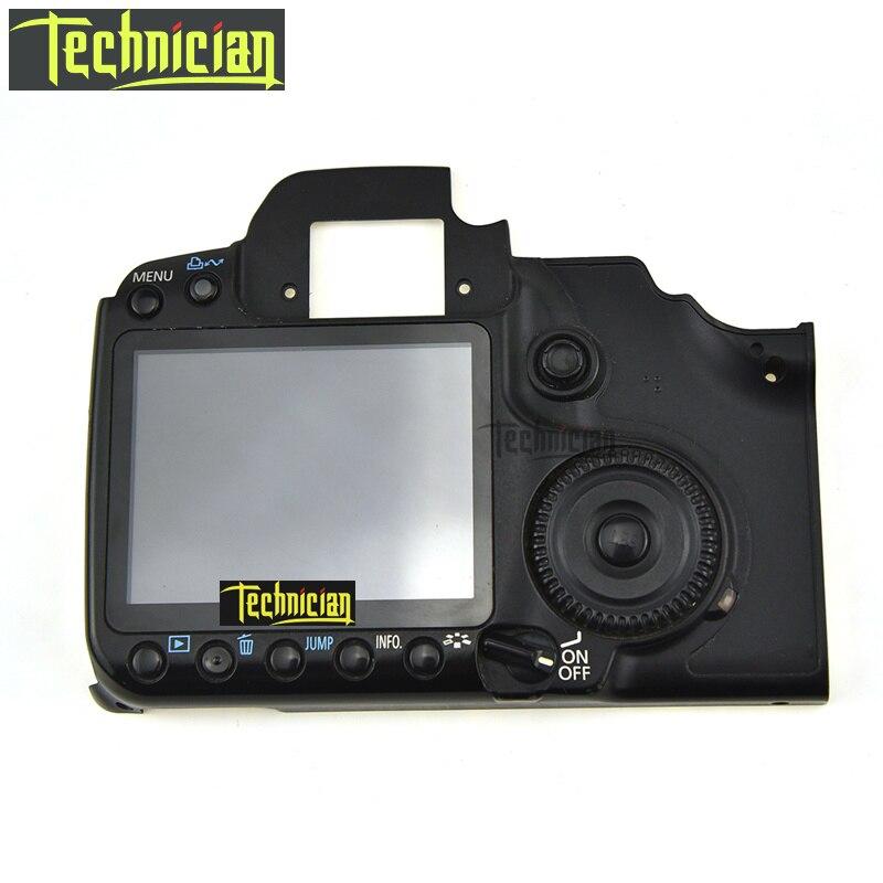 40D couverture arrière avec LCD et boutons Flex câble caméra pièces de rechange pour Canon