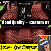 Good quality waterproof Custom car floor mats for BMW X6 2008 2017 car styling floor mat Foot Carpets Rugs car styling