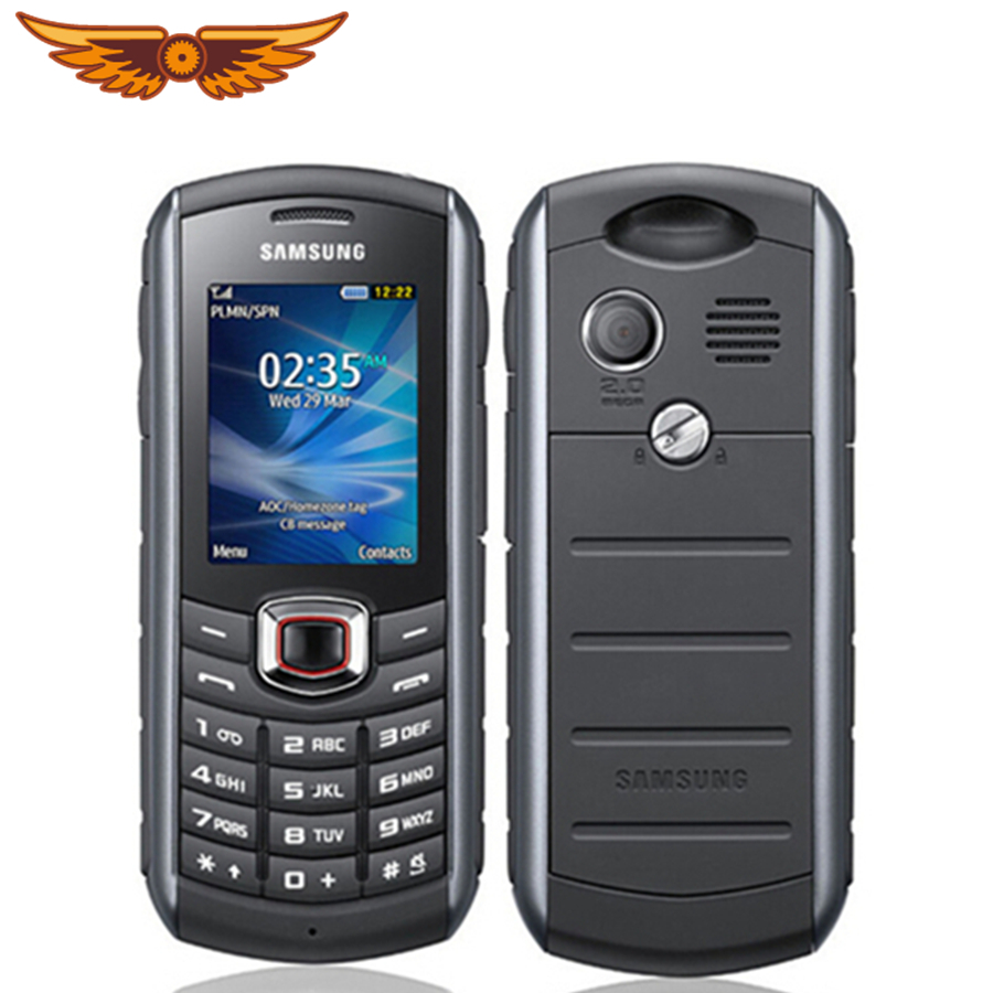 Samsung B2710 Unlocked 1300mah GSM/WCDMA 2MP Refurbished Cellphone Waterproof Original