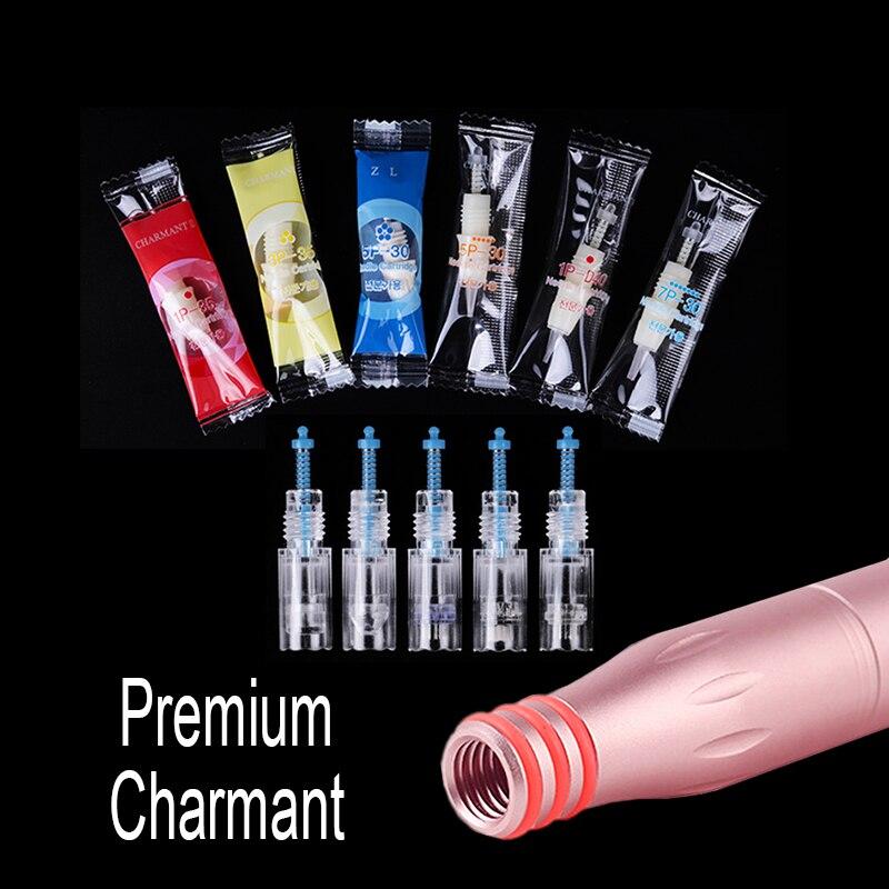 20pcs/lot Charme Tattoo Needles Cartridge For Premium Charmant Permanent Makeup Machine For Eyebrow Lips 1RL 3RL 5RL 5F 7F