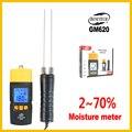 Измеритель влажности для дерева цифровой ЖК-дисплей измеритель влажности для дерева измеритель влажности детектор портативный GM620-BENETECH