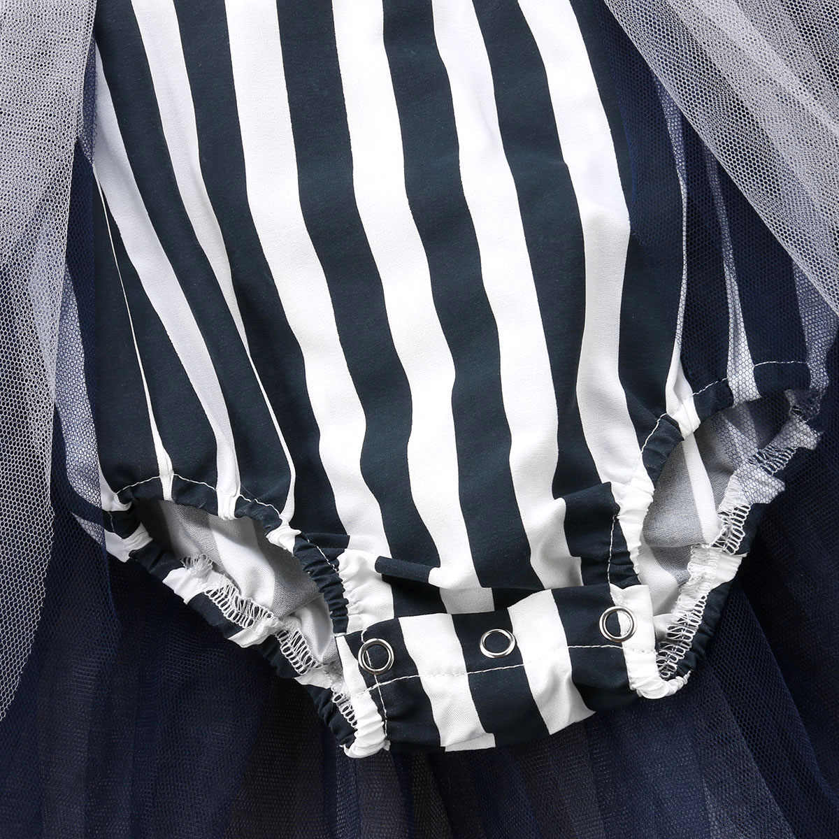 2018 Pasgeboren Peuter Baby Meisje Halloween Zwarte Bodysuit Gestreepte Tutu Rok Jumpsuit Playsuit Leuke Vakantie Kleding 0-24 m 45