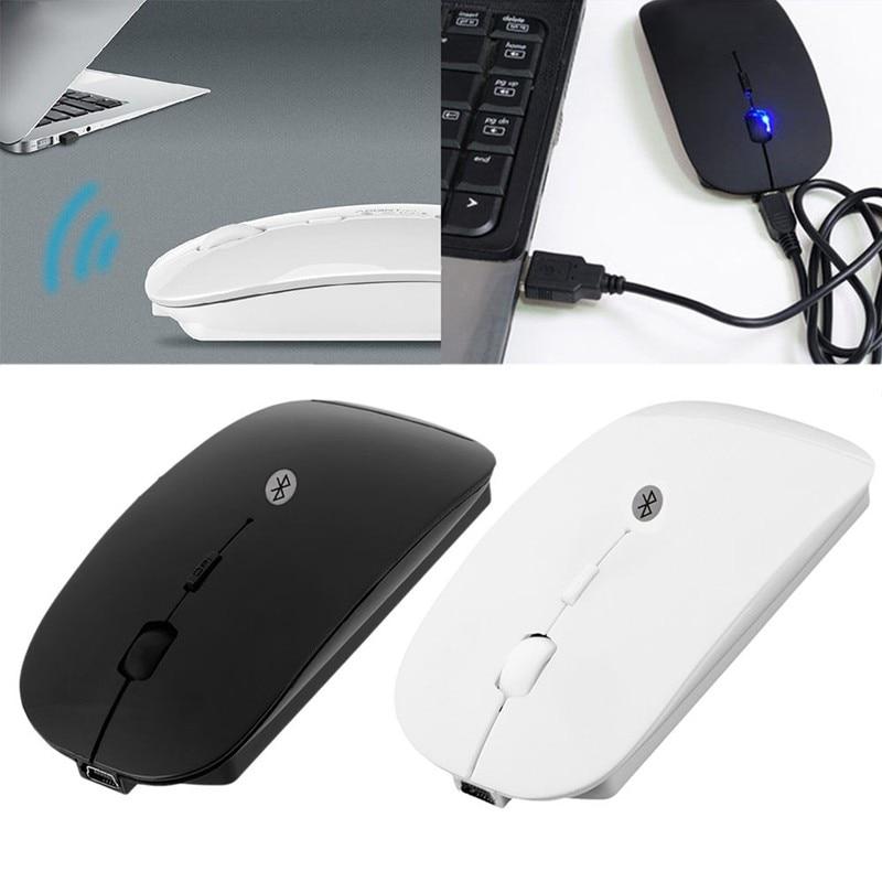 P Wiederaufladbare Drahtlose Maus Bluetooth 3,0 Verdrahtet und ...
