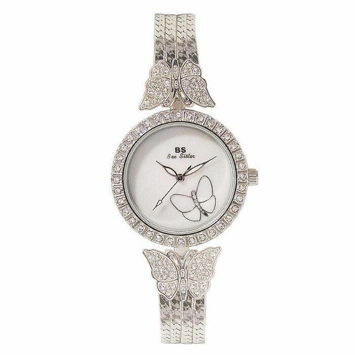 New Arrivals Famous Brand Full Diamond Luxury Women Bracelet Watch Lady Dress Jewelry Watch Bling Crystal