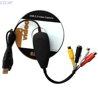 VHS Player Capture Card Convert Video To Digital For Any Analog RCA Input To PC ForWindows