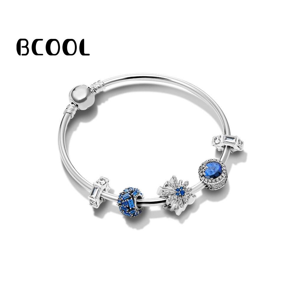 Diy Sieraden Vrouwelijke Charm Zilver 925 Originele Armband, Nieuwe Brilliant Vuurwerk Armband Sieraden Gift Goedkoopste Prijs Van Onze Site