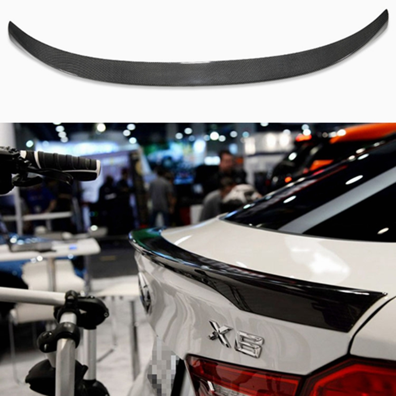 Здесь можно купить  For BMW X6 F16 Spoiler Carbon Fiber Material 2014 2015 2016 - UP X6 Carbon Spoiler M Performance Style  Автомобили и Мотоциклы