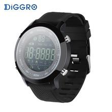 Diggro EX18 Smart Uhr Wasserdicht IP68 5ATM Passometer Nachricht Erinnerung Ultra lang Bereitschaft Schwimmen Sport Aktivitäten Tracker