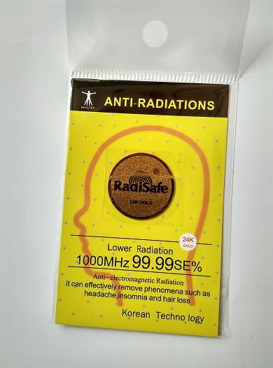 2019hot product mobile phone sticker realy work shiled 99 8 24K Gold Radi Safe anti radiation