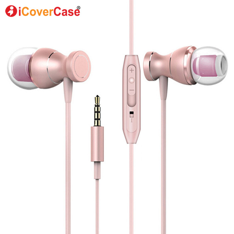 Bass Music Earpiece In-Ear Earphone Headset For <font><b>Nokia</b></font> 3310 3G <font><b>8110</b></font> <font><b>4G</b></font> 150 216 230 X6 130 Case Phone Accessory Headphone With Mic image