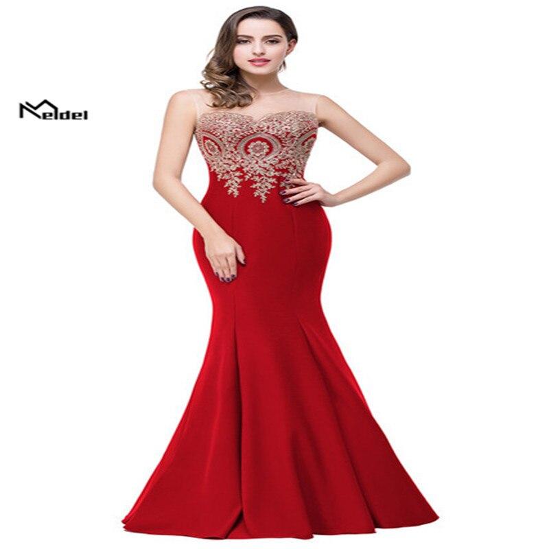 Robe De soirée 2019 robe élégante avec Appliqué longue robe De soirée pour les événements officiels soirée envoyer Wirst fleurs