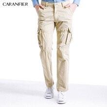 CARANFIER 5 Colors Men Pants Casual Cargo Uniform Fashion Male Trousers Tactical Pockets Pants High Quality Classic Trousers New
