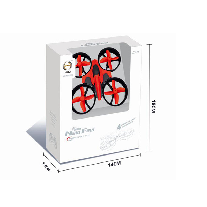 Mini Drone RC Quadcopter NH010 2.4G 6-Axis 4 Channels 30M Headless Mode One Key Return RC Helicopters Dron Toys Pocket Drones (17)