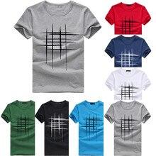 JAYCOSIN Новая мужская летняя стильная футболка с принтом для мужчин летний Стиль Футболки Уличная Мужская Блузка Топы HX0806