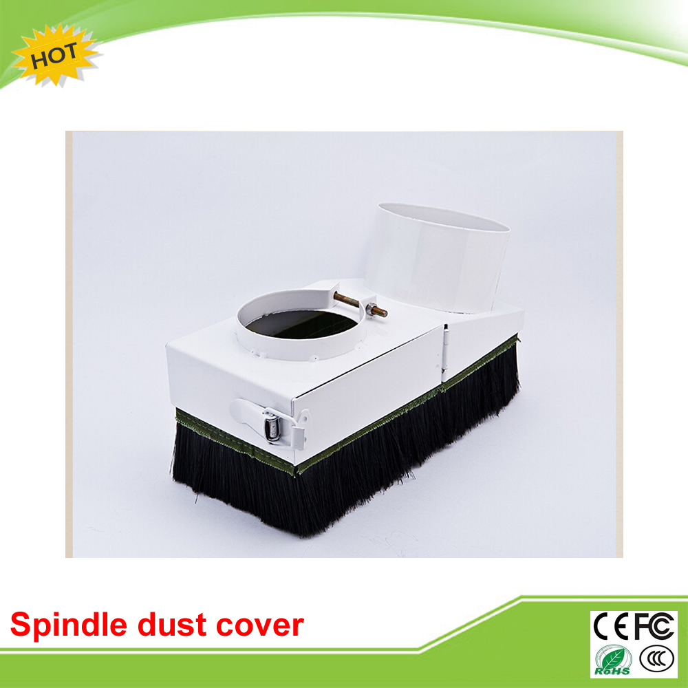65/80/100/125mm Spindle dust cover for CNC machine above 800W spindle motor dust cover for cnc machine dust proof height 200mm