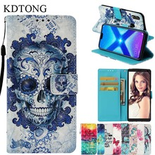 Case sFor Coque Huawei Honor 8X Max Luxurry Flip PU Leather Magnetic Wallet Card Cover For Phone Bags