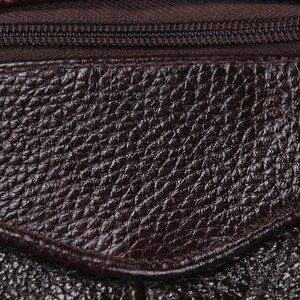 Image 5 - HUANILAI Men Bags Messenger Bags  Fashion Business Shoulder Bags For Men Genuine Leather Bags High Capacity Handbags TY006