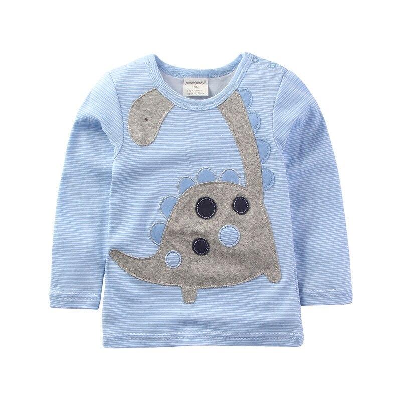 9be8a84255 2018 Crianças Novas Roupas Da Marca Filhos Meninos Camisetas Primavera  Roupas Meninas do bebê Tops de Manga Longa de Algodão T-shirt Vetement  Enfant Fille