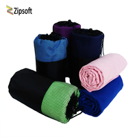 Zipsoft Brand Travel   Towels   Microfiber Anti-Bacterial Quick Drying Bag   Towels   For Travel Camping Outdoor Sports Christmas Gift