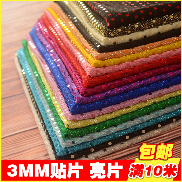 3MM sequin fabric for wedding decoration cheap sequin material for ...