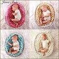 Recém-nascidos Adereços Fotografia Da Foto Do Bebê Cobertor 6 Cores 4 M Longo Cesta Trança Cesta Stuffer Enchimento Acrílico atrezzo fotos bebe