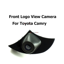 CCD Car Parking  Front View CCD Camera For Toyota new Camry Corolla LAND CRUISER highlander Front camera waterproof