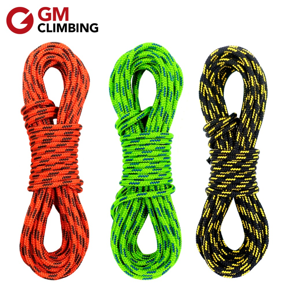 8 Pcs 4m Outdoor Guy Rope Reflective Cord Lines With Runners Tent Camping Guide