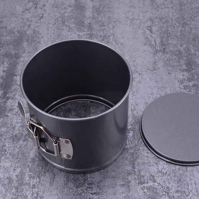 Moule à gâteau antiadhésif rond 4/5/6/7 pouces | En acier inoxydable, poêle à gâteau pâtisserie, poêle à pain, cuisson, bricolage outils de cuisson