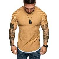 חולצת בייסיק קצרה סלים פיט לגברים